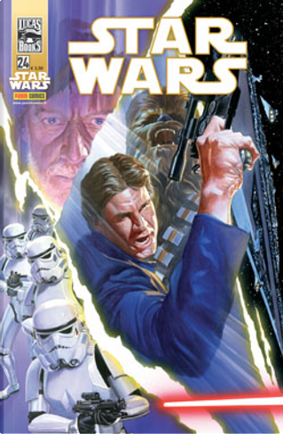Star Wars vol. 24 by Russ Manning, John Jackson Miller, W. Haden Blackman, Brian Wood