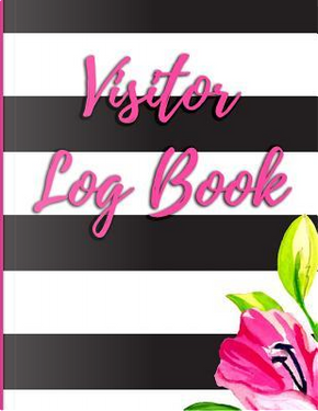 Visitor Log Book by Signature Logbooks
