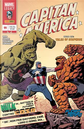 Capitan America n. 99 by Chris Samnee