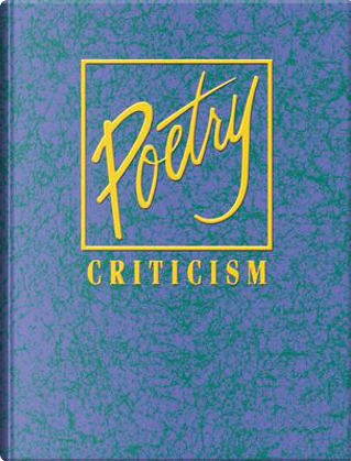 Poetry Criticism by Not Available