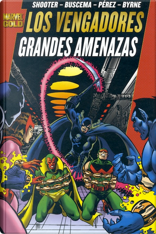 Marvel Gold: Los Vengadores #3 by Jim Shooter, Marv Wolfman