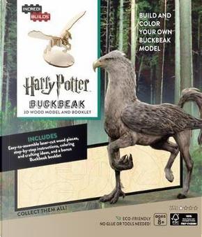 Harry Potter Buckbeak 3D Wood Model by Insight Editions