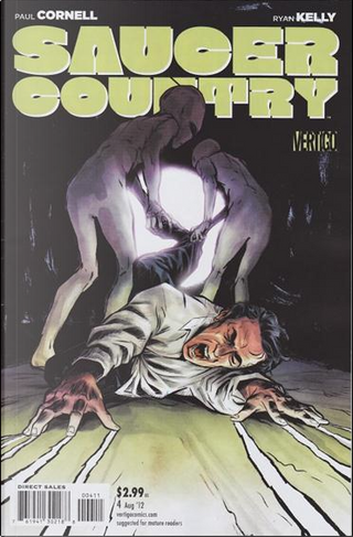 Saucer Country Vol.1 #4 by Paul Cornell