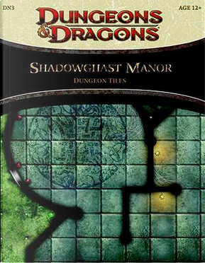 Shadowghast Manor Dungeon Tiles by Wizards Of The Coast