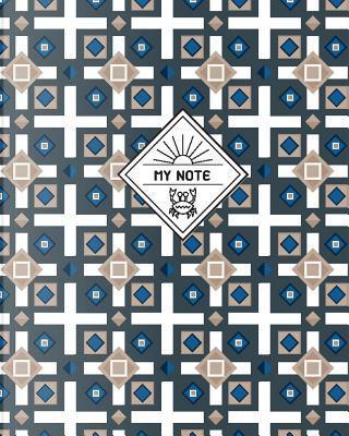 My Note, Geometric-batik2 by Shirley S. Coe