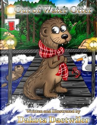 Out of Water Otter by Dakota L. Daetwiler