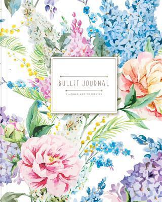 Bullet Journal for Two Quarterly 6 Months Blank Calendar by Banana Leaves