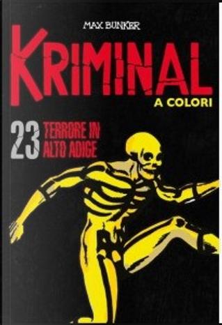Kriminal a colori - Vol. 23 by Max Bunker