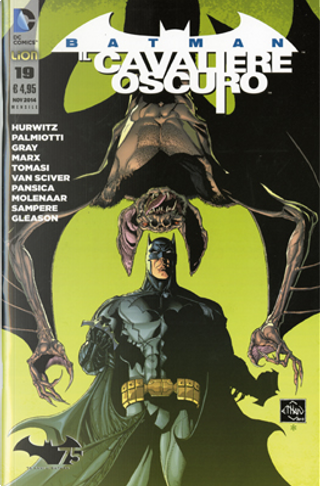 Batman Il Cavaliere Oscuro, n. 19 by Christy Marx, Gregg Hurwitz, Jimmy Palmiotti, Justin Gray, Peter J. Tomasi
