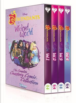 Disney Descendants Wicked World The Complete Cinestory Comic Collection by Walt Disney