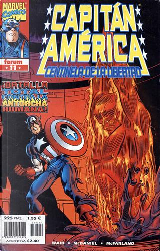 Capitán América: Centinela de la libertad Vol.1 #11 (de 12) by Mark Waid