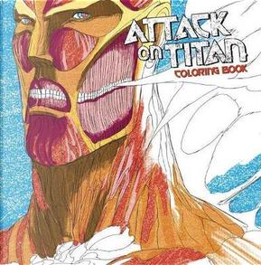 Attack on Titan Coloring Book by Hajime Isayama