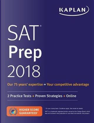Kaplan SAT Prep 2018 by Inc. Kaplan