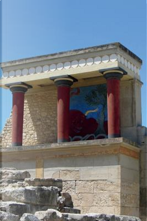Minoan Palace at Knossos Crete Journal by Cool Image