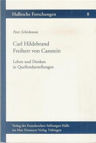 Carl Hildebrand Freiherr Von Canstein by Peter Schicketanz