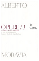 Opere vol.3 (due tomi) by Moravia Alberto