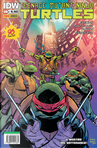 Teenage Mutant Ninja Turtles vol. 39 by Bobby Curnow, Chris Mowry, John Lees, Kevin Eastman, Nick Pitarra, Tom Waltz