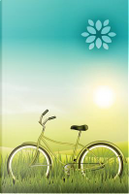 Green Ride Bicycle Any Day Planner Notebook by N. D. Author Services