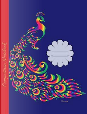 Peacock Composition Notebook by Gloria Pavo