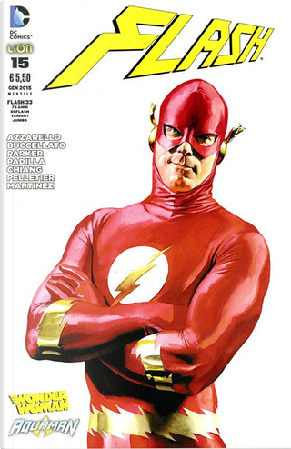 Flash n. 33 - Variant Jumbo by Brian Azzarello, Brian Buccellato, Jeff Parker, Robert Kanigher