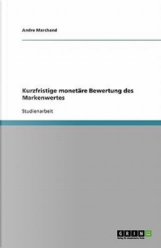 Kurzfristige monetäre Bewertung des Markenwertes by Andre Marchand