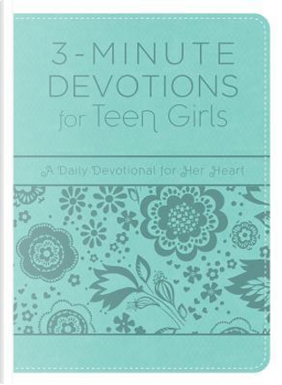 3-Minute Devotions for Teen Girls by Barbour Publishing