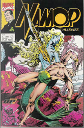 Namor The Sub-Mariner n. 7 by Danny Bulanadi, Bob Budiansky, David Michelinie, J. M. DeMatteis, Paul Ryan, Mark Gruenwald, Bob Layton