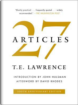 27 Articles by T. E. Lawrence