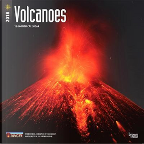 Volcanoes 2018 Calendar by BrownTrout Publishers