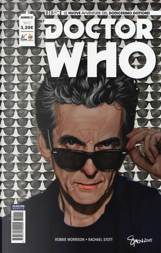 Doctor Who n. 21 by Robbie Morrison