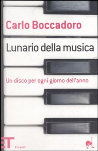 Lunario della musica by Carlo Boccadoro