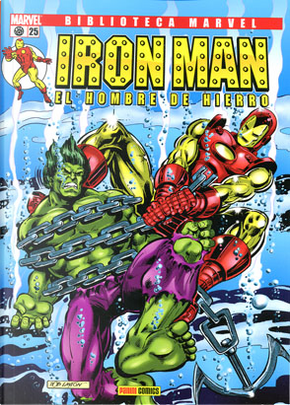 BIBLIOTECA MARVEL IRON MAN N 25 by David Michelinie, Bob Layton, Jerry Bingham
