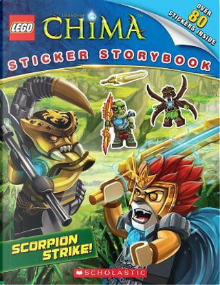 Lego Legends of Chima Sticker Storybook by Anna Holmes