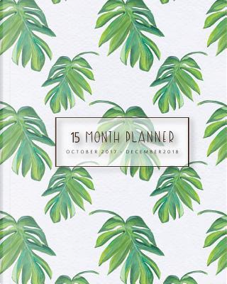 Planner 2017-2018,Academic Planner Weekly And Monthly by Banana Leaves