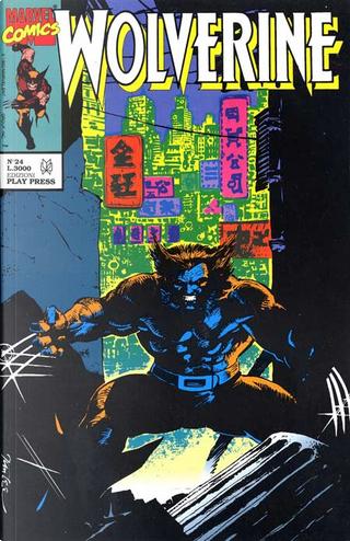 Wolverine n. 24 by Bill Mantlo, Chris Claremont, Chris Wozniak, Gene Colan, June Brigman, Peter David