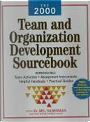 The 2000 Team and Organization Development Sourcebook by Mel Silberman