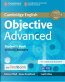 Objective Advanced. Student's Book without answers. Con CD-ROM by Felicity O'Dell