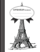 Eiffel Tower Sketch Notebook by Jason Patel