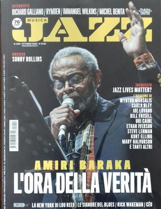 Musica Jazz n. 839 (ottobre 2020) by Enzo Capua, Luciano Federighi, Marco Fazzini, Maurizio Giammarco, Riccardo Bertoncelli