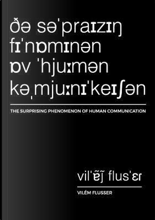 Flusser, V by Vilem Flusser