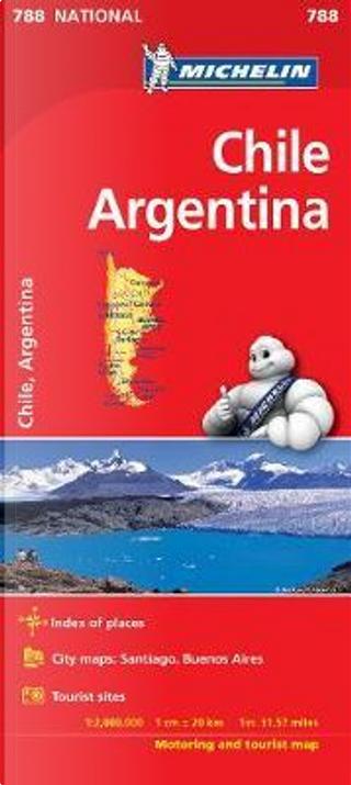 Chile Argentina Michelin 788 karta by Michelin