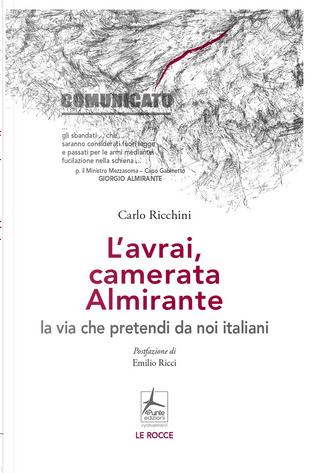 L'avrai, camerata Almirante la via che pretendi da noi italiani by Carlo Ricchini