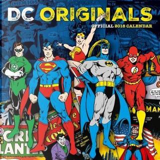 DC Comics Official 2018 Calendar - Square Wall Format Calendar (Calendar 2018) by Dc Comics
