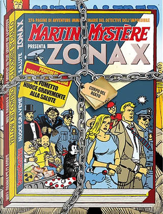Maxi Martin Mystère n. 7 by Alfredo Castelli, Claudio Chiaverotti