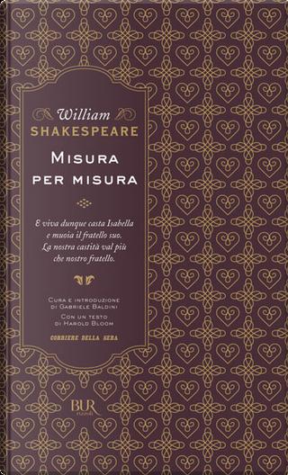 Misura per misura by William Shakespeare