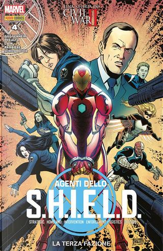 Agenti dello S.H.I.E.L.D. vol. 4 by Chelsea Cain, Frank Barbiere, Marc Guggenheim