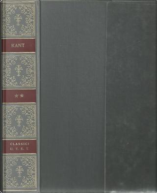 SCRITTI MORALI by Immanuel Kant
