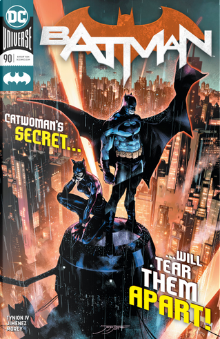 Batman vol. 3 #90 by James Tynion IV