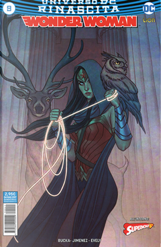 Wonder Woman #9 by Greg Rucka, Phil Jimenez