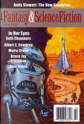 The Magazine of Fantasy and Science Fiction, January/February 2014 by Albert E. Cowdrey, Alex Irvine, Andy Stewart, Bruce Jay Friedman, Claudio Chillemi, Moira Crone, Oliver Buckram, Paul Di Filippo, Robert Reed